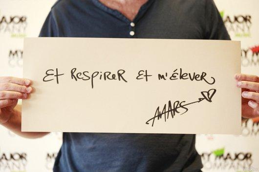 2012 Sept 06 - Melissa Mars chante dans Les Voix de L'enfant !