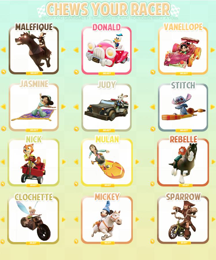 Courses Disney