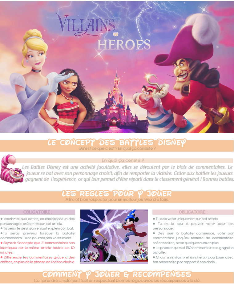 Battles Disney