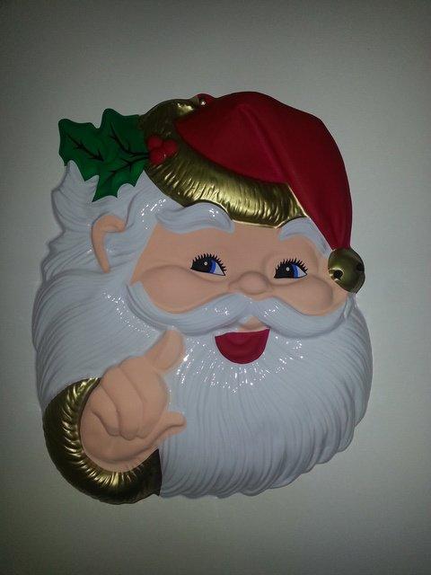 Tête de Père Noël