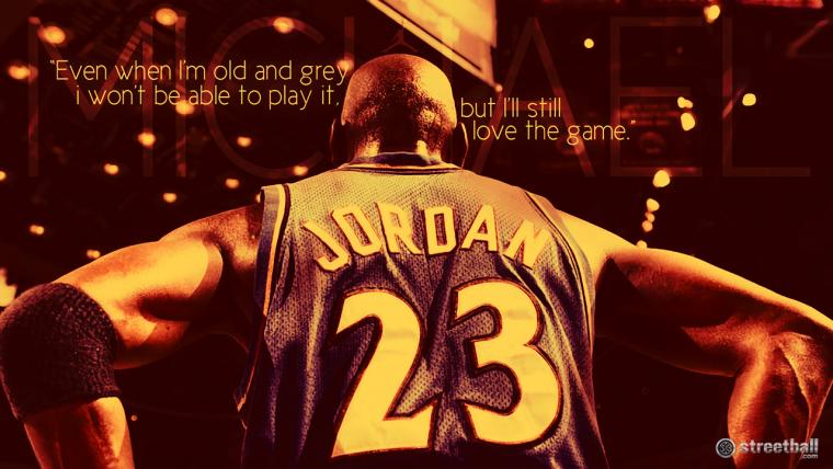 """""""J'ai raté 9000 tirs dans ma carrière. J'ai perdu presque 300 matchs. 26 fois, on m'a fait confiance pour prendre le tir de la victoire et j'ai raté. J'ai échoué encore et encore et encore dans ma vie. Et c'est pourquoi je réussi."""" M.Jordan."""