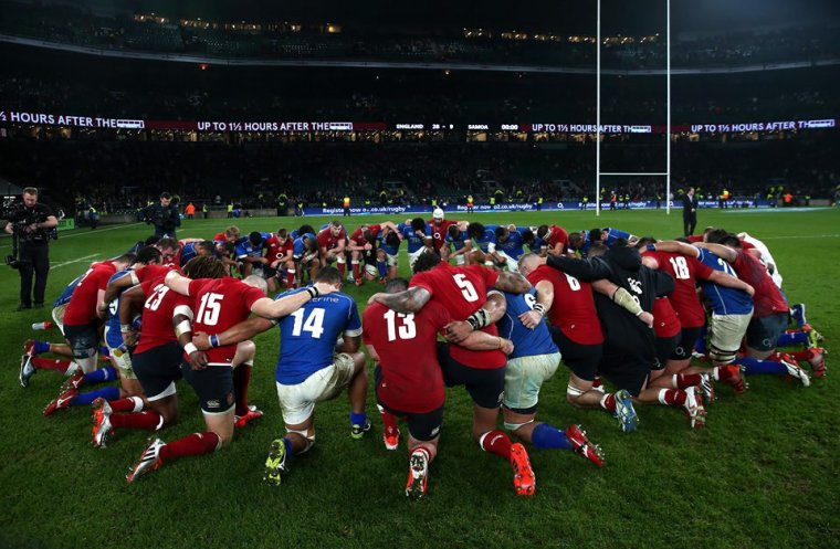 Respect, Rugby !!