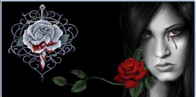 rose et tristesse