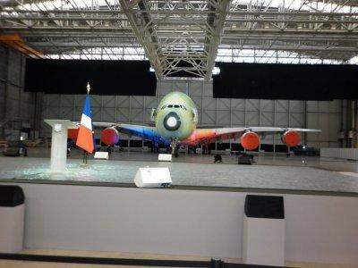 INAUGURATION A380 PART NICOLAS SARKOZY/ ATPS ETAIT LA http://www.skyrock.com/m/blog/perso40.php