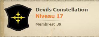 Nouvelle Guilde : Devils Constellation
