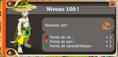 Le niveau 100 : Tellement suprême