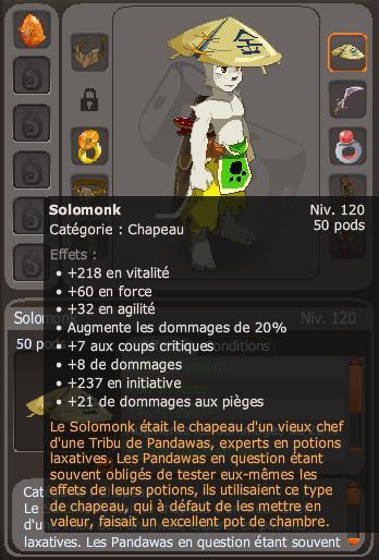 Article 100 : La magnifique aventure du Solomonk