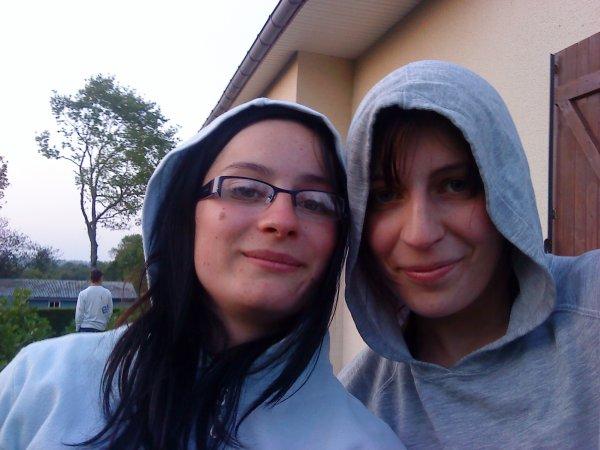 moi et ma meilleure amie !!!!