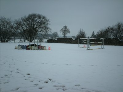 première neige...