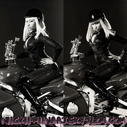 NICKI MINAJ  . Photoshoot Pour la  Promo  dés MTV VIDEO MUSIC AWARDS