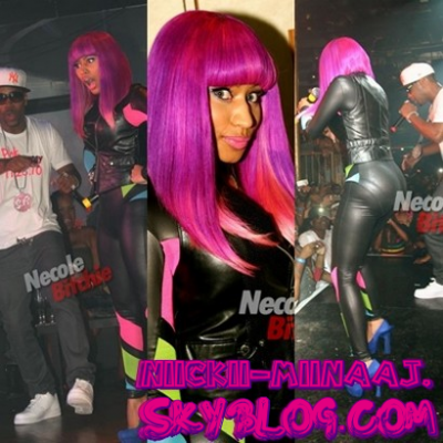 "NICKI MINAJ . PERFORMANCE  - ""Atlanta Pride Pure Heat 2010""  .  (4 Septembre 2010)"