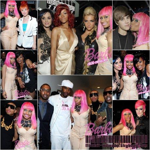 """NICKI MINAJ . Backstage  - """" MTV Video Music Awards """" 2010"""