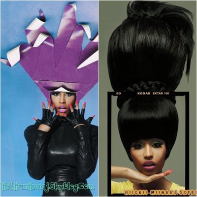 "NICKI MINAJ . "" Out Magazine ""  Photoshoot  ""  Bois GL 2010  """