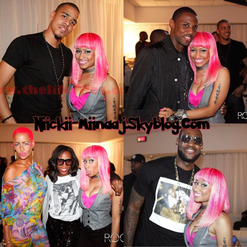 "NICKI MINAJ . PERFORMANCE - "" HOME & HOME "" avec Kanye West and Jay-Z . Sep 13 n°2"