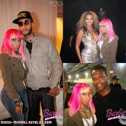 "Nicki Minaj . "" Spotted @ Yankee Stadium "" - SEP 14"
