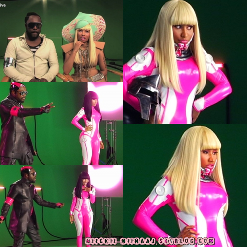 "NEW :  Tournage du clip ""Check It Out ""   Nicki Minaj feat  Will.I.Am"