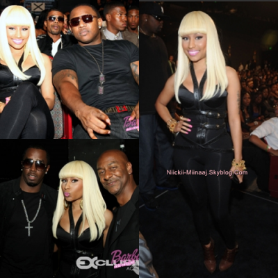 "Nicki Minaj  - ""BET Awards Hip Hop "" 2010  - Backstage & Public  oct 2"