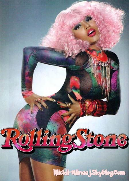 "NICKI MINAJ  -  Magazines "" Rolling Stone ""   Oct 7"