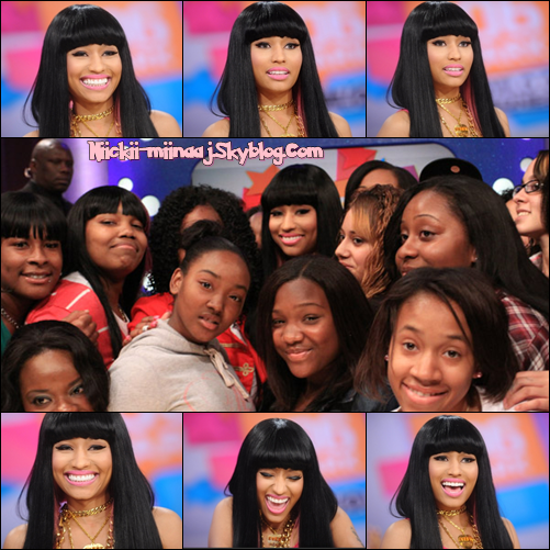 NICKI MINAJ - VISTE  >  106 & Park