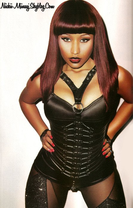 NICKI MINAJ - Black Men Magazine SSX