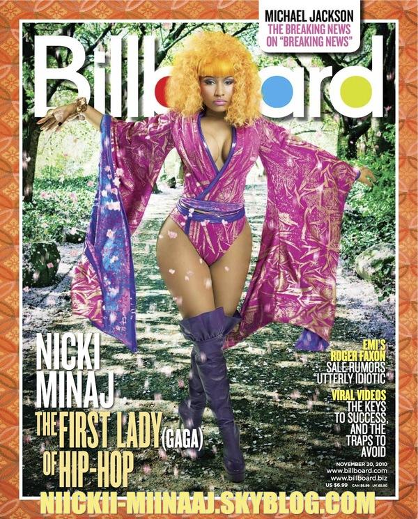 """NICKI MINAJ -  COURVERTURE DE """"  magazine Billboard """""""