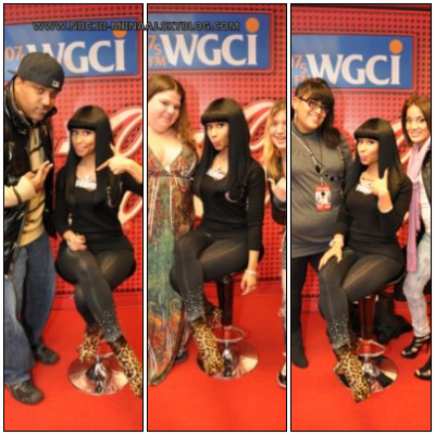 NICKI MINAJ@ The WGCI Coca-Cola Lounge (nov15)