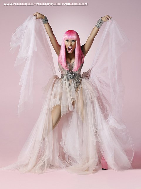 "NICKI MINAJ @ Photoshoots  for ""Pink Friday"""