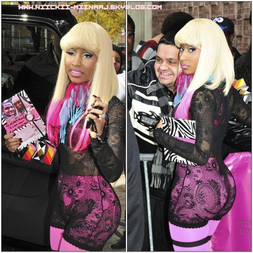 PHOTOS APPARITION : NICKI MINAJ @ The Wendy Williams Show