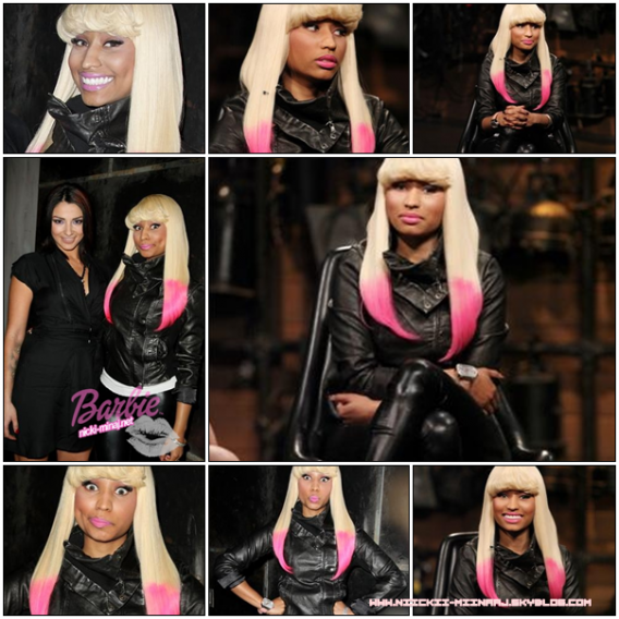 NICKI MINAJ @  stops by `Fuse Top 20 Countdown (nov18)