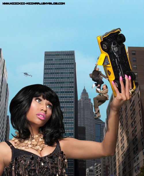 NICKI MINAJ @ PHOTOSHOOT DE NICKI EBONY MAGAZINE