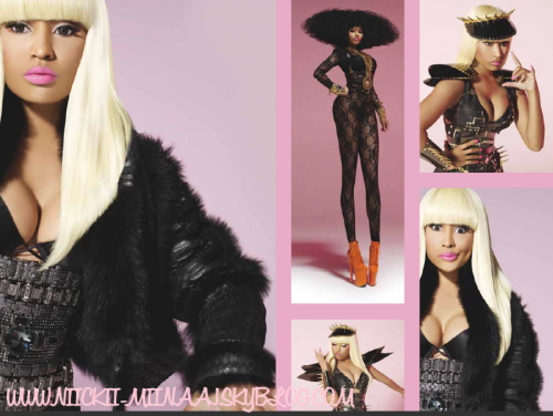 "NICKI MINAJ@ ""Pink Friday"" Digital Album Booklet"