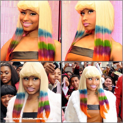 NICKI MINAJ @  Launch Pink Friday Lipstick