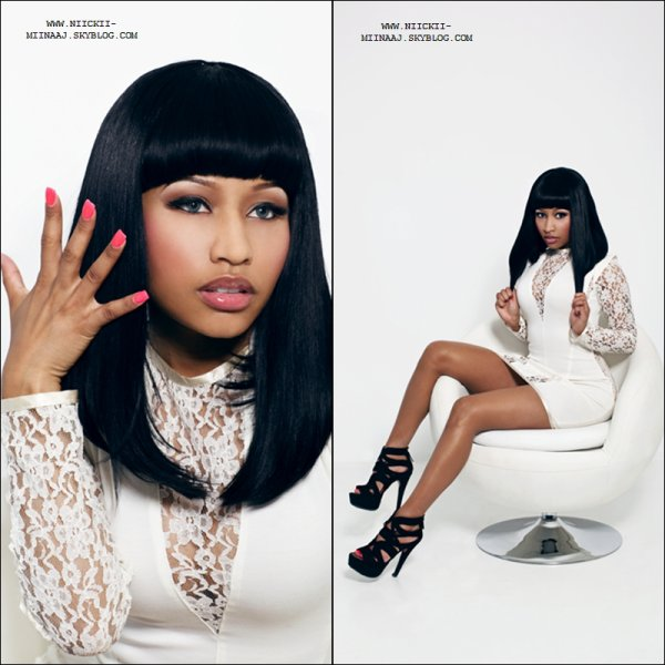 NICKI MINAJ - XXL Magazine Photoshoot ( OUTTAKES ) 2010