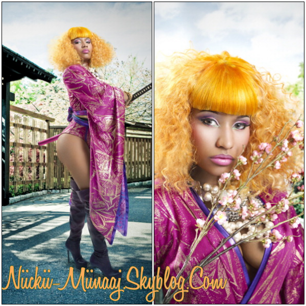 NICKI MINAJ- Photoshoots > Black Men Magazine Outtakes