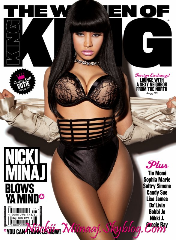NICKI MINAJ -  covers king magazine