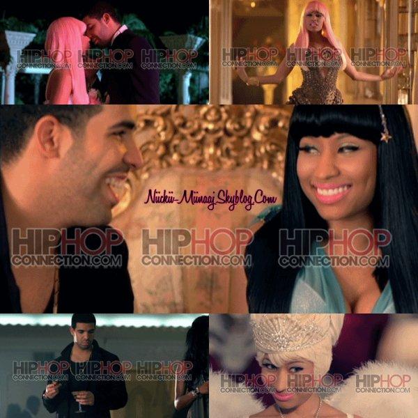 """Nicki Minaj et Drake sur du clip  """"Moment 4 Life"""""""