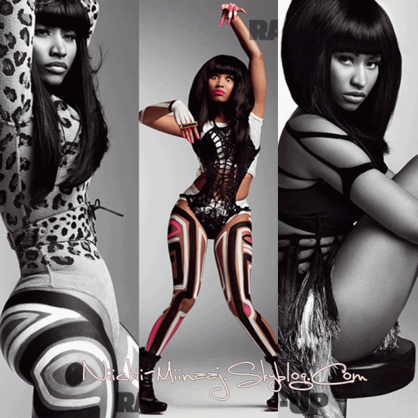 Nicki Minaj - Couverture du ' Magazines V Magazine' ( suite )