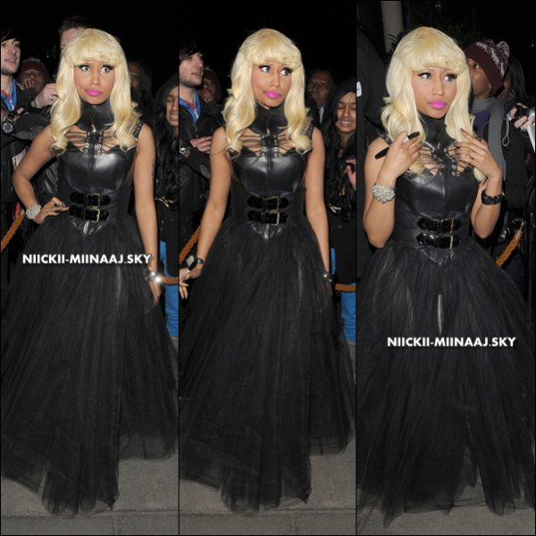 21-1 :  NICKI MINAJ / LONDON