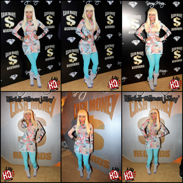 Nicki Minaj & Young Money / Cash Money's Pre-Grammy Gala
