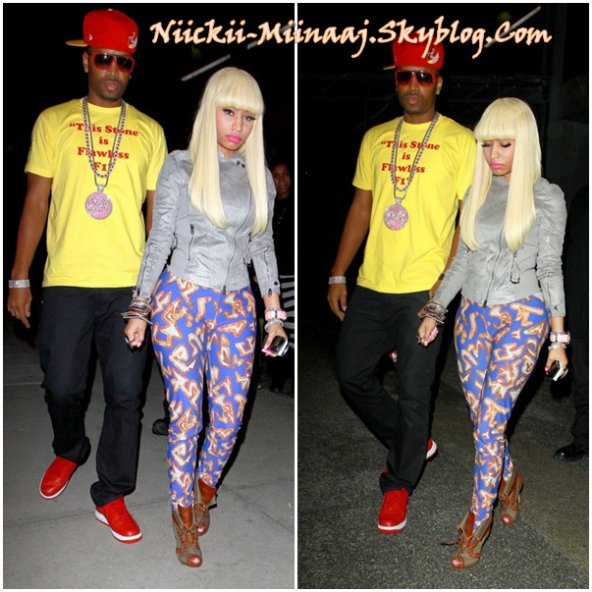 Nicki Minaj -Feb 20 - BOA Steakhouse in West Hollywood