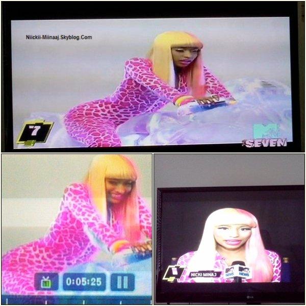 "Nicki Minaj - Photos "" Super Bass"" Clip"