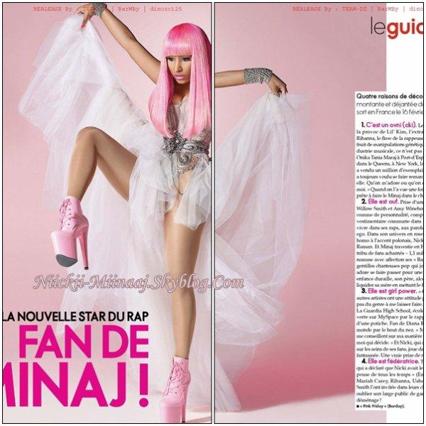 "Nicki Minaj   Magazine Français dans "" LeGuideActuelle """