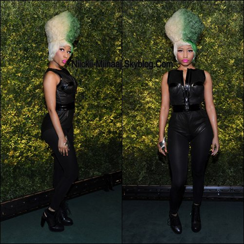 Nicki Minaj | Green A Charity Event