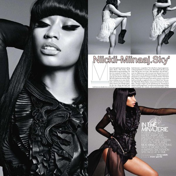 Nicki Minaj | ELLE MAGAZINE