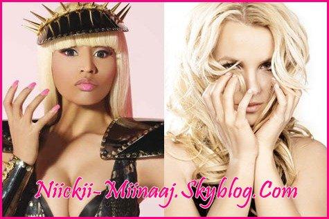 Nicki Minaj va faire une tourner  Britney Spears