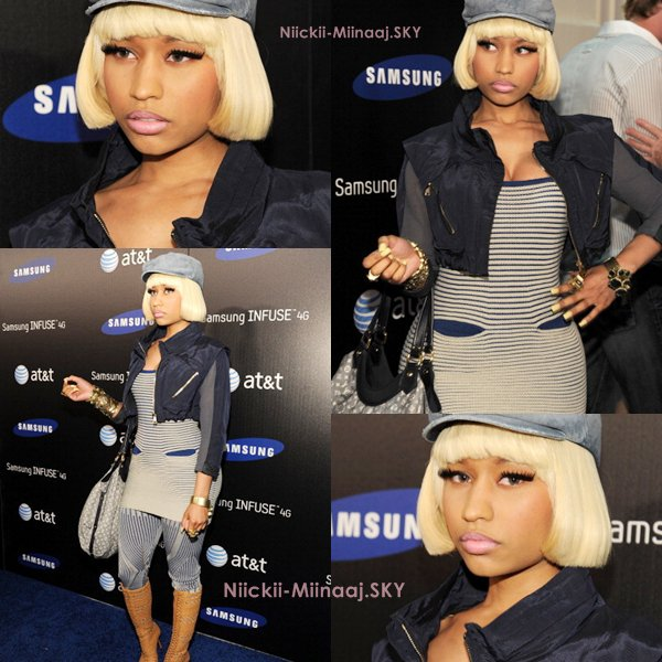 NICKI MINAJ | SAMSUNG INFUSE 4G FOR AT&T LAUNCH EVENT
