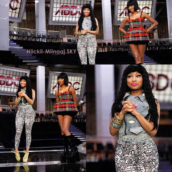 "Nicki Minaj |  Sur MTV "" America's Best Dance Crew"""