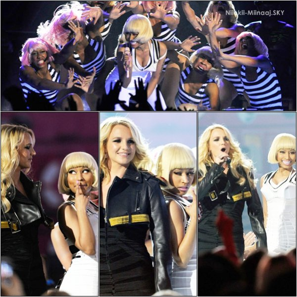 Nicki Minaj Performs With Britney Spears @ The Billboard Awards