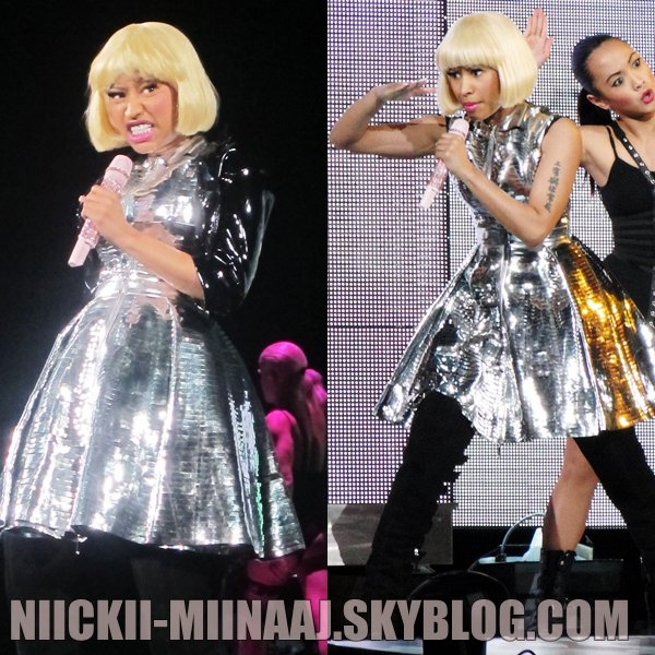 NICKI MINAJ & Britney Spears |  Femme Fatale Tour  > June 20 - Los Angeles, CA