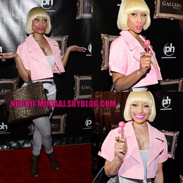 Nicki Minaj | NIGHTCLUB AFTERPARTY AT PLANET HOLLYWOOD (UHQ)